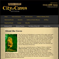 About the Caves | The City of Caves Nottingham