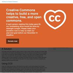 """comment placer délibérément SON oeuvre sous copyright dans le domaine publique >> CC-Zero — """"No Rights Reserved"""""""