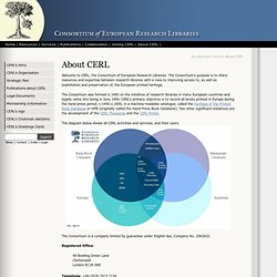 About CERL [CERL]