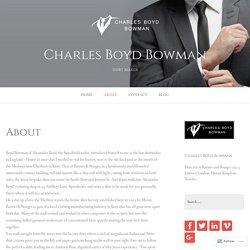 Charles Boyd Bowman