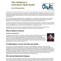 ChildLit Web Guide