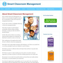 About Smart Classroom Management