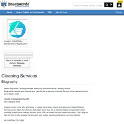 About Cleaning Services