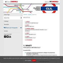About CLIL « Spazio CLIL