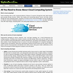 All You Need to Know About Cloud Computing System