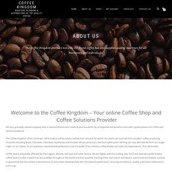 Coffee Supplier South Africa - Coffee Kingdom
