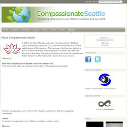 About Compassionate Seattle - Compassionate Seattle