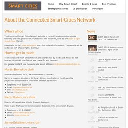 About the Connected Smart Cities Network