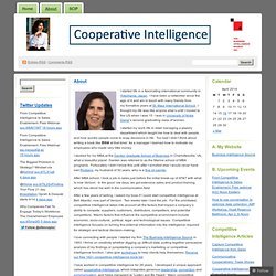 About « Cooperative Intelligence