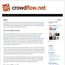 About | crowdflow.net