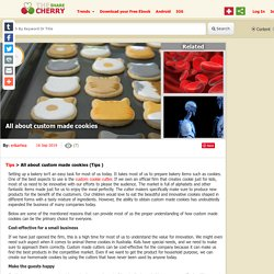All about custom made cookies By erikarhea