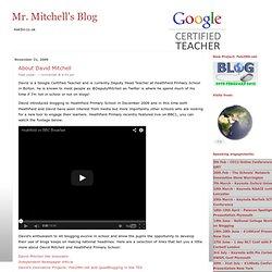 About David Mitchell