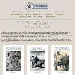 About David Sheldrick