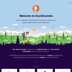 À propos de DuckDuckGo