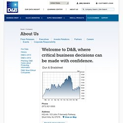 D&B - the leading source of business information.
