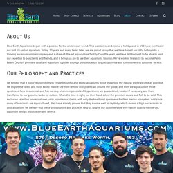 About Us - Hydra, Ai, Ecotech, Reef Octopus, Red Sea, Reefer