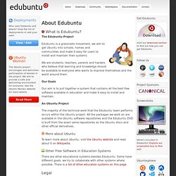 About Edubuntu