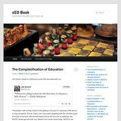 xED Book | a book about education stuff, moocs, etc.