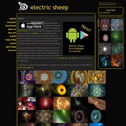 the electric sheep screen-saver