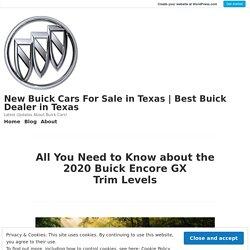 2020 Buick Encore GX Essence The Top Trim