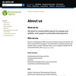 About - Environment Agency