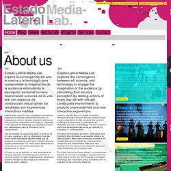 About us | Estado Lateral Media Lab