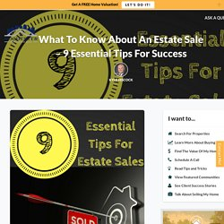 9 Essential Tips For Success With An Estate Sale