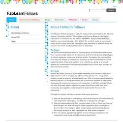 About Fablearn Fellows