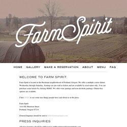 About - Farm Spirit