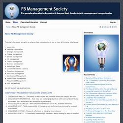 About FB Management Society l FB Management