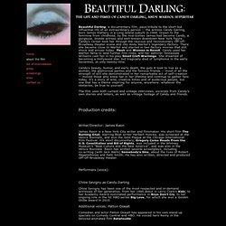 About the film: Beautiful Darling