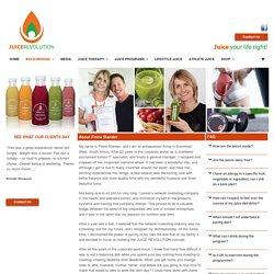 About Fiona Stander - Juice Revolution