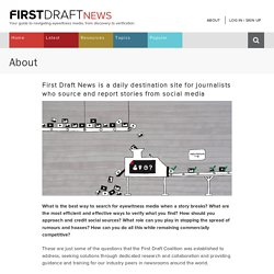 About - First Draft News