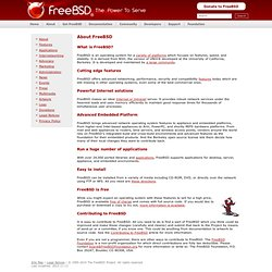 About FreeBSD
