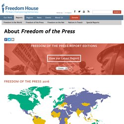 About Freedom of the Press