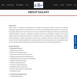 About Galaxy - Blue sapphiregalaxy