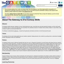 Gateway to Educational Materials Information — Gateway to 21st C