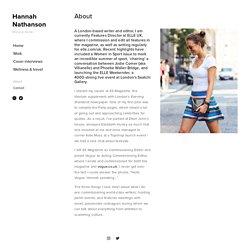 About — Hannah Nathanson