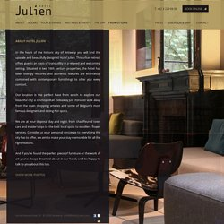 About Hotel Julien