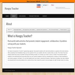 About » Hungry Teacher