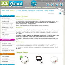 About ICE Gems - icegems.co.uk