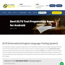 Preparation Books and Study Guides About Ielts