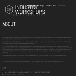 Industry Workshops