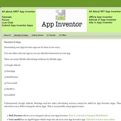 All About App Inventer: Monetize AI Apps