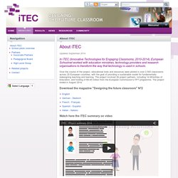 EUN - iTEC (Innovative Technologies for Engaging Classrooms)