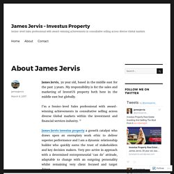 About James Jervis – James Jervis – Investus Property