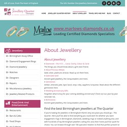 About Jewellery