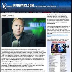 » About Alex Jones Alex Jones