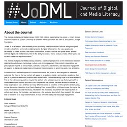 Journal of Digital and Media Literacy