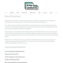 About — Kima Ventures